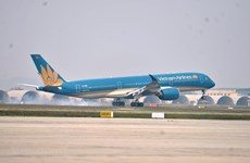 Vietnam Airlines sells tickets for commercial flight from Seoul to Hanoi