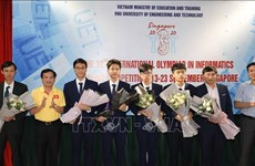 Vietnamese students win four medals at 32nd Int'l Olympiad in Informatics