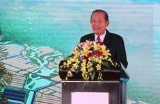 Construction of 143-million-USD industrial park begins in Binh Dinh
