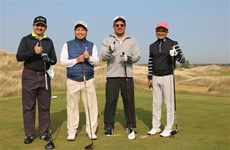 Golf tourney marks 70th anniversary of Vietnam-Russia ties