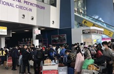 Over 270 Vietnamese citizens return from Russia