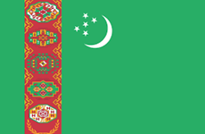 Congratulations to Turkmenistan over Independence Day