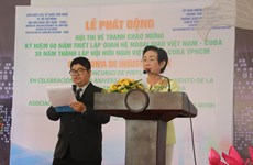 Painting contest marks Vietnam-Cuba diplomatic ties