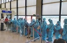 Over 350 Vietnamese citizens return from US, Japan