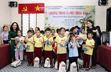 Host of activities for disadvantaged kids in HCM City during Mid-Autumn Festival
