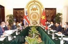 Vietnam, UK issue joint declaration on strategic partnership