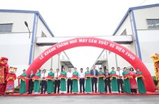 Son Ha Group inaugurates EVgo electric vehicle production plant in Bac Ninh