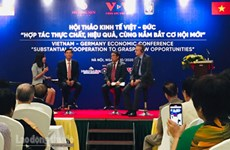 Vietnam, Germany look to boost economic cooperation