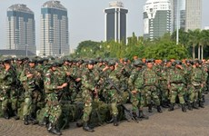 Indonesian President pledges to modernise army