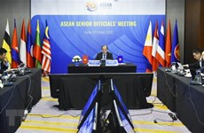 ASEAN Senior Officials' Meeting underway