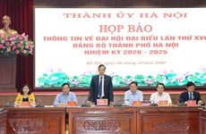 Hanoi ready for 17th municipal Party Congress