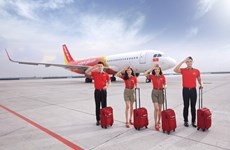 Vietjet offers  550,000 promotional tickets to celebrate Capital Liberation Day