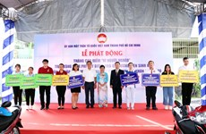 HCM City launches month for the poor