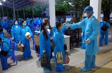 Over 240 Vietnamese citizens repatriated from Philippines