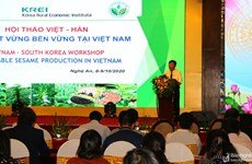 Vietnam, RoK cooperate in sustainable sesame production