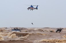 Severe floods hit central localities