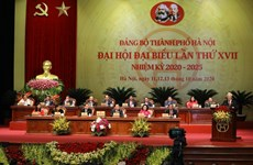 17th Party Congress of Hanoi kicks off