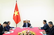 Vietnamese, Japanese Prime Ministers hold phone talks