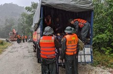 All-out efforts to search for missing people at hydropower plant landslide