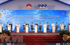 FLC commences international conference centre's construction in Vinh Phuc