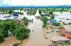 Floods wreak havoc in Cambodia