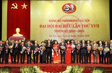17th Congress of Hanoi Party Organisation concludes