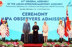 Parliament leaders congratulate Vietnam on AIPA-41