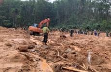 Three bodies found at landslide-hit site