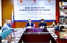 Webinar looks to bolster Vietnam-Russia trade amid COVID-19
