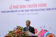 Ministry launches action month on excess cholesterol prevention