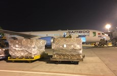 Bamboo Airways provides free transport of relief supplies to central region