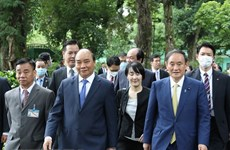 Japanese news agency spotlights PM Suga Yoshihide's Vietnam visit