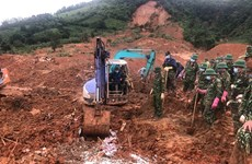 All 22 bodies in Quang Tri's landslide recovered
