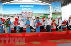 Work starts on expanding aircraft apron at Da Nang Airport