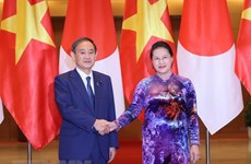 National Assembly Chairwoman meets Japanese Prime Minister