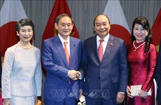 Japanese media spotlights PM Suga Yoshihide's visit to Vietnam