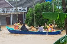 Vietnamese community in Cambodia raise funds for flood victims at home
