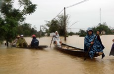 Myanmar State Counsellor offers sympathy over flood-caused losses