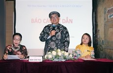 Seminar emphasises role of traditional dress 'ao dai'