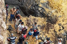At least 11 killed in landslide in central Indonesia