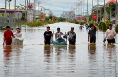 Floods kill 36 people in Cambodia
