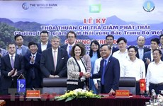 Vietnam, WB sign emissions reduction purchase agreement