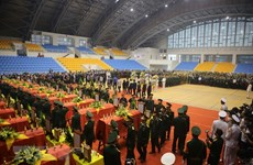 Services held for 22 Quang Tri landslide-killed soldiers