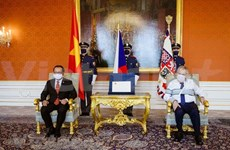 Czech President lauds friendship with Vietnam