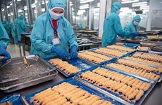 Shrimp exports projected to up 9.8 percent to 3.7 billion USD this year