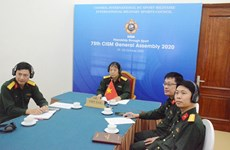 Vietnam attends 75th general assembly of Int'l Military Sports Council