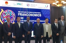 Franconomics 2020 kicks off in Hanoi