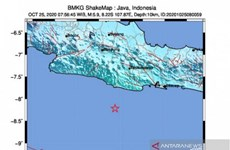 5.9-magnitude earthquake hits Indonesia's West Java