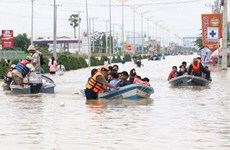 Floods in Cambodia claim 40 lives