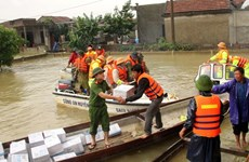 Charity race sets aside 1 billion VND for flood victims